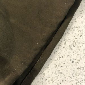 Vintage Pants - 90's olive green trousers